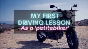 My First Driving Lesson