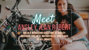 Meet Ansley Jean Robert