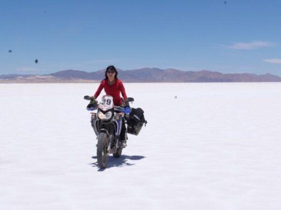 Lady Biker - Motorcycles Nepal