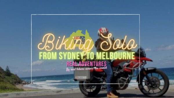 Biking Solo, From Sydney to Melbourne