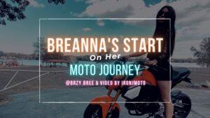 Breanna's Start on her Moto Journey with a Honda Grom